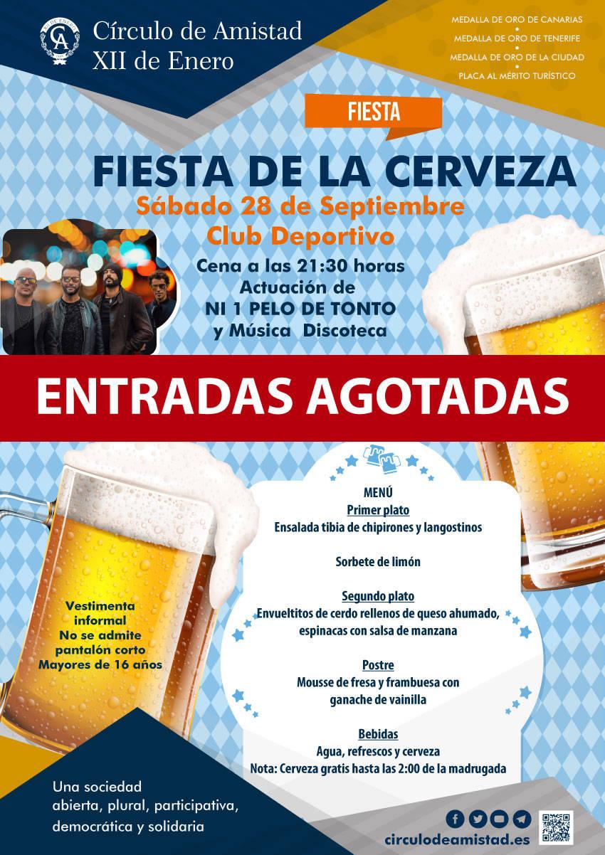 Cartel Fiesta Cerveza