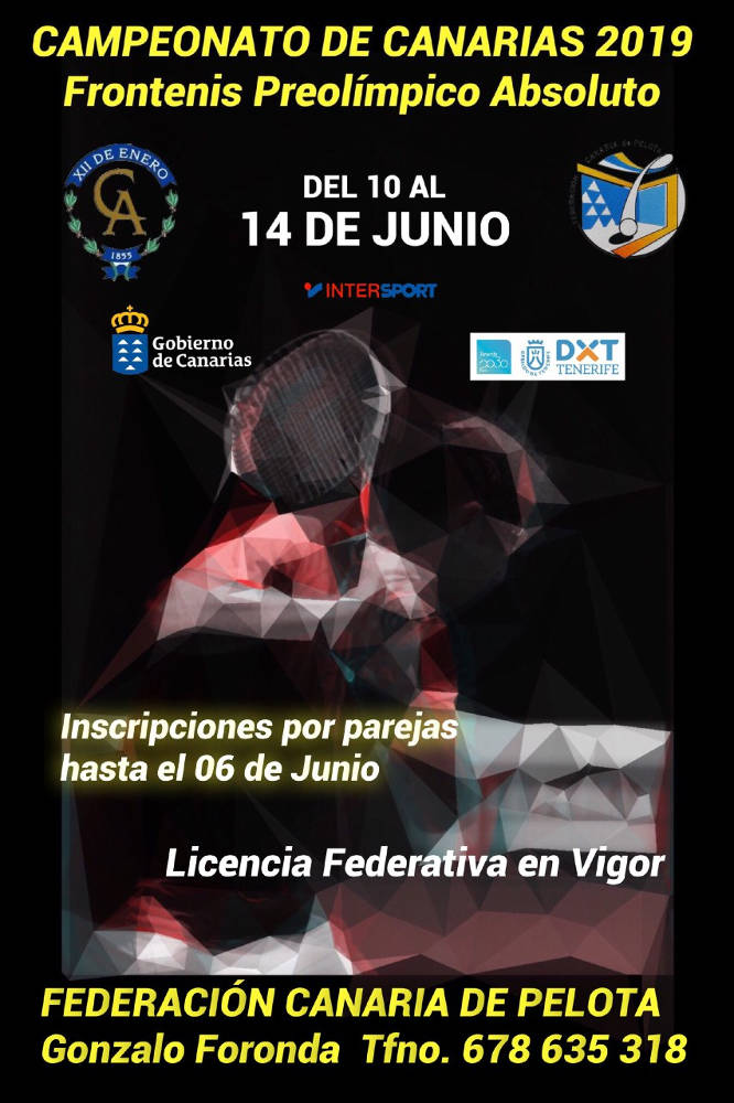 Cartel Evento Frontenis