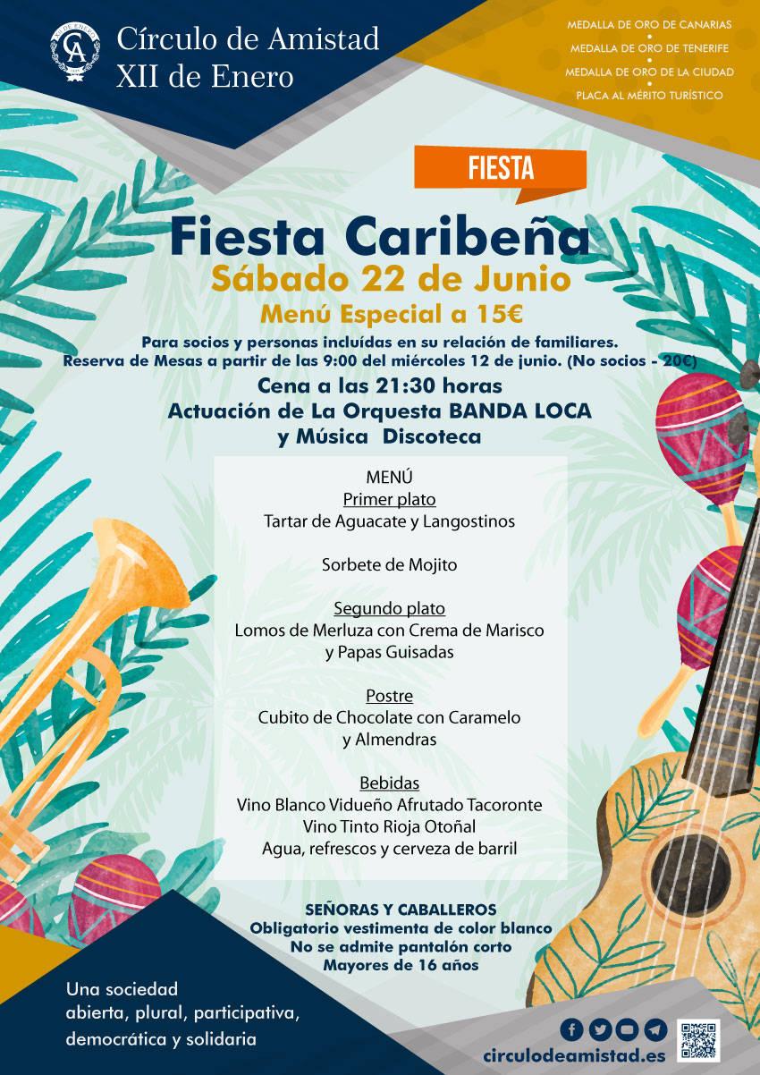 Cartel Fiesta Caribeña