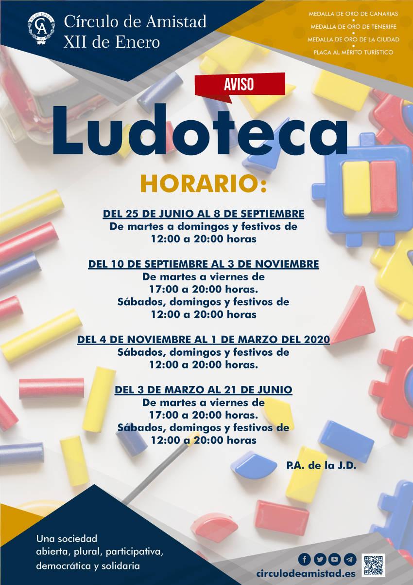 Cartel Ludoteca