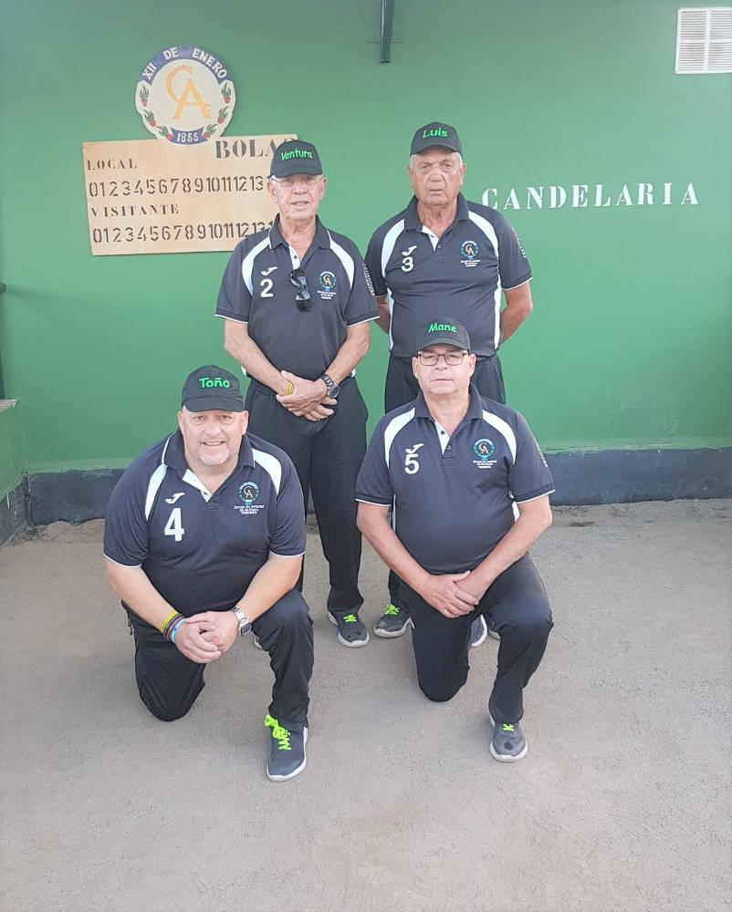 Equipo de Bola Canaria Circulo A