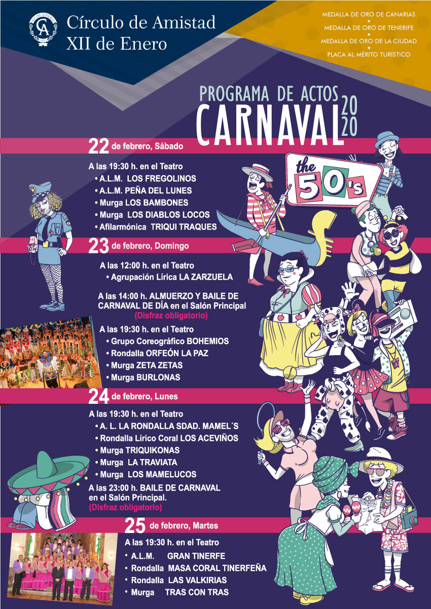 Cartel Programa Carnaval