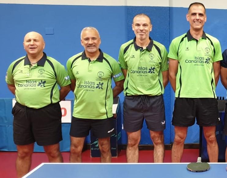 Tenis de Mesa Equipo de Segunda División