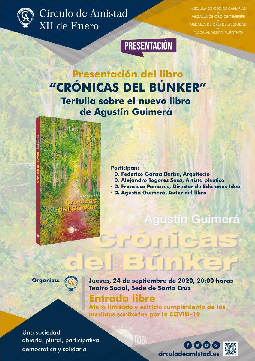 Cartel Conferencia Benito Cabrera