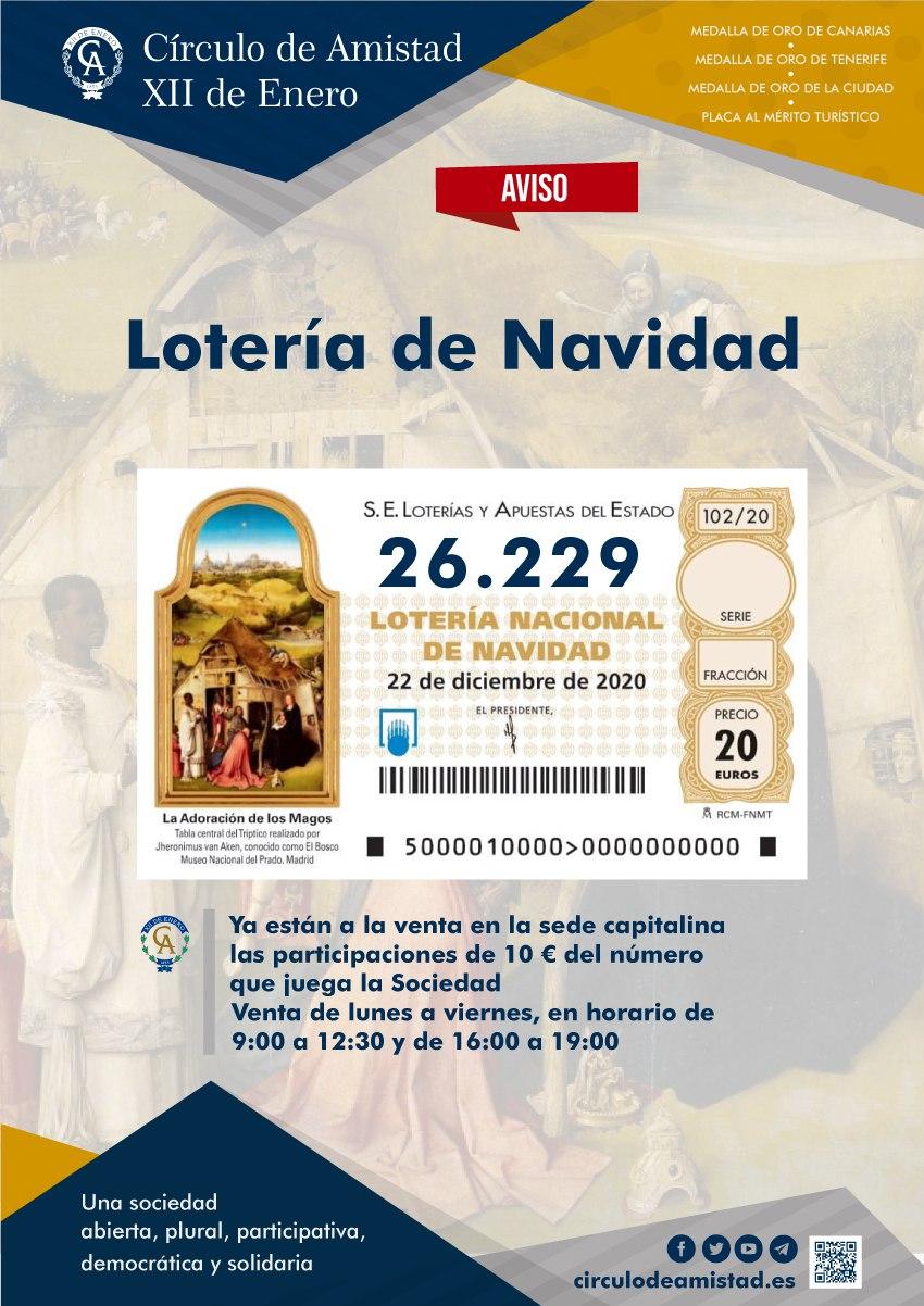 Cartel lotería