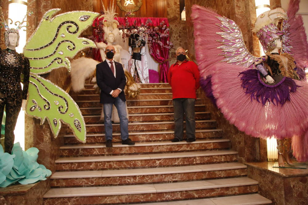Exposición de fantasías de Carnaval de Miguel Ángel Castilla
