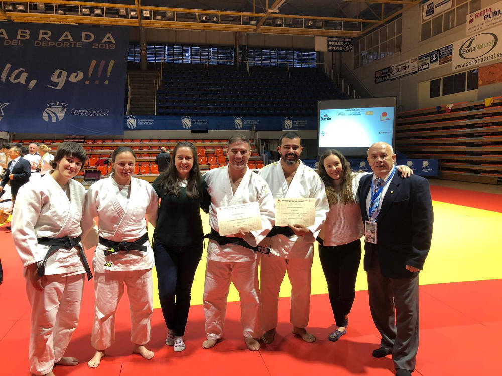 Imagen de dos judokas